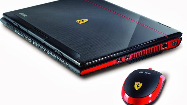 Acer Ferrari 1100 —komputer spod znaku Massy niedla mas