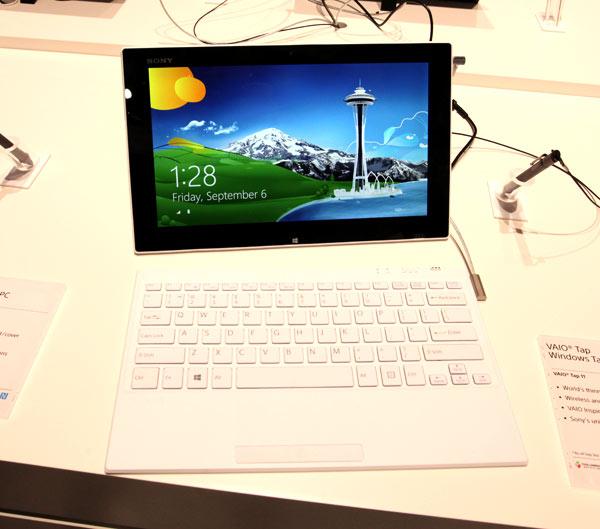 Sony Vaio Tap 11– najcieńszy tablet zWindows 8 naświecie