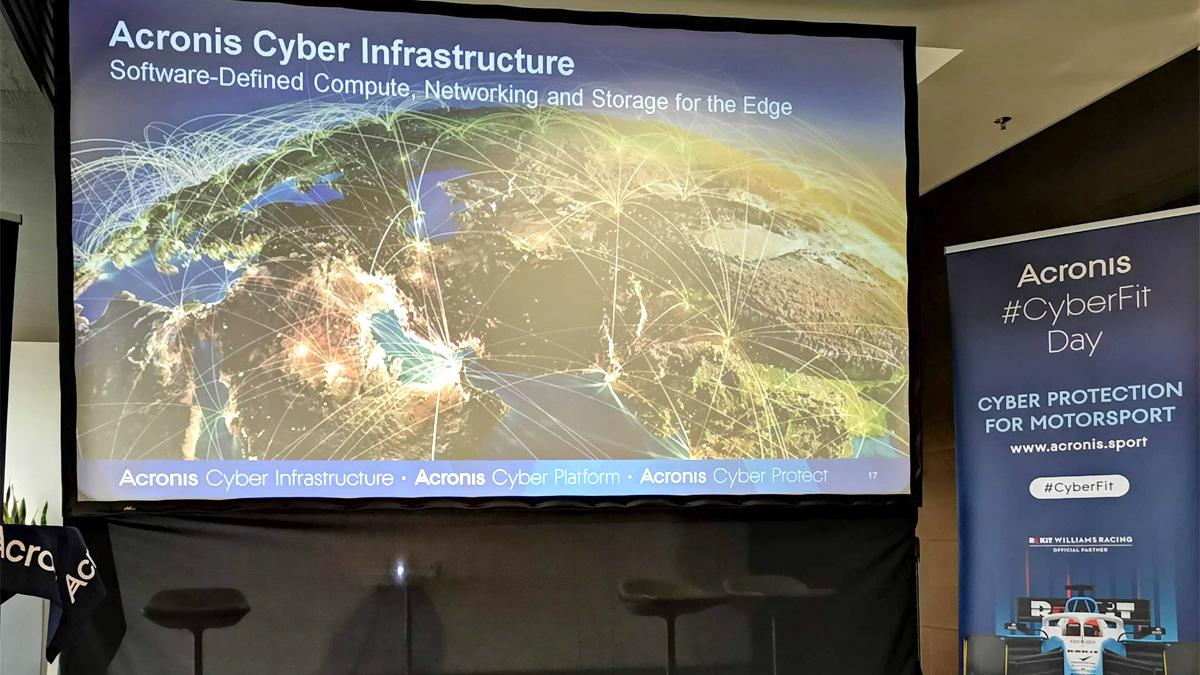 Acronis CyberFit 2019 konferencja