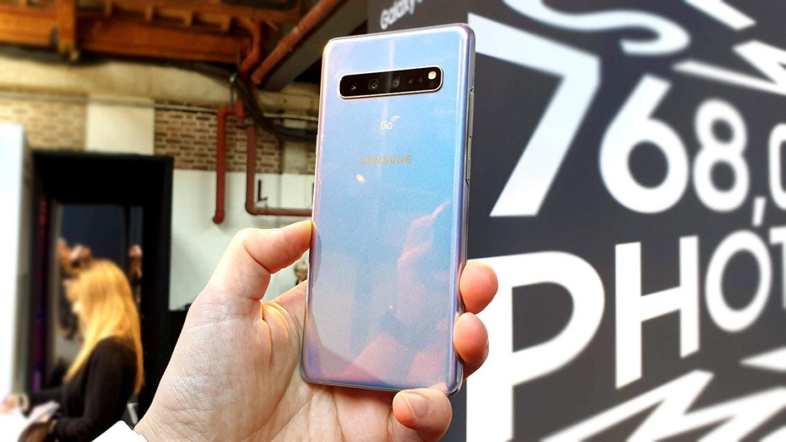 Samsung Galaxy S20 pierwszym smartfonem nagrywającym w 8K