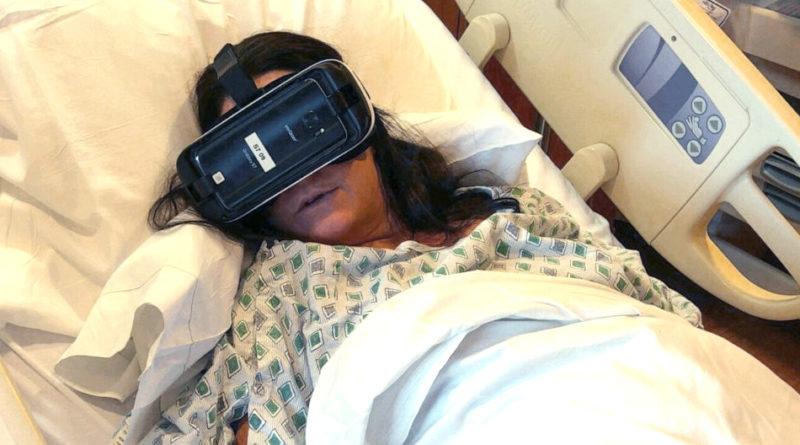 Poród w hełmie VR