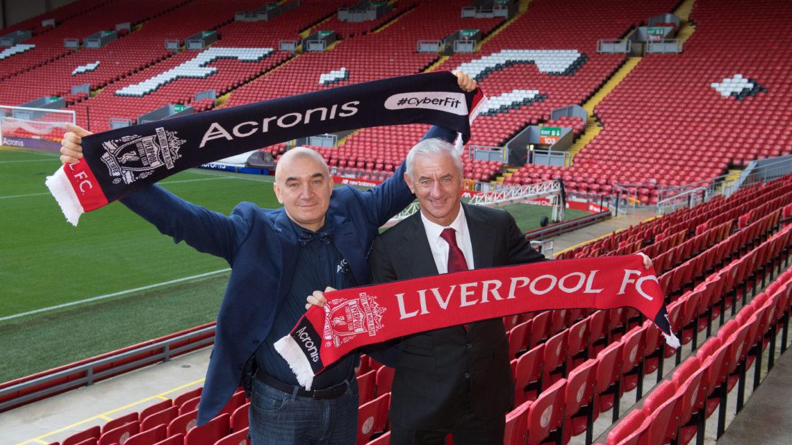 Acronis partnerem technologicznym klubu Liverpool
