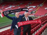 Serguei Beloussov (Acronis) i Enrico Tizzano (Liverpool FC)