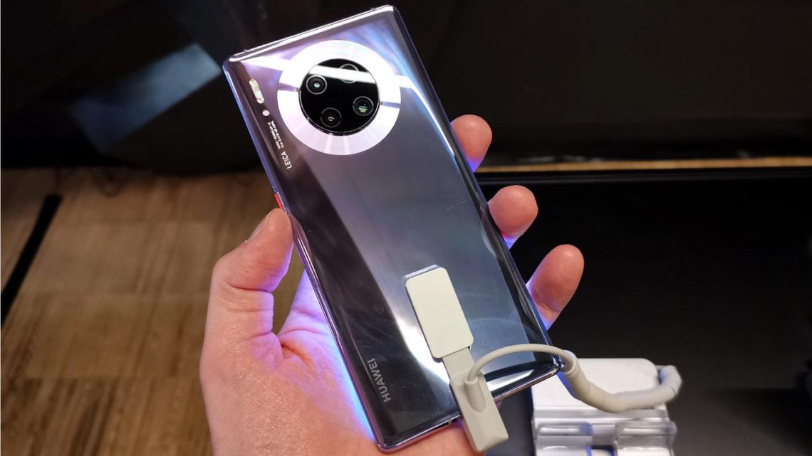 Huawei Mate 30 Pro w sprzedaży w Polsce.  Huawei buduje własny ekosystem