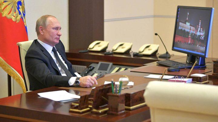 Władimir Putin przyłapany nakorzystaniu zWindows XP
