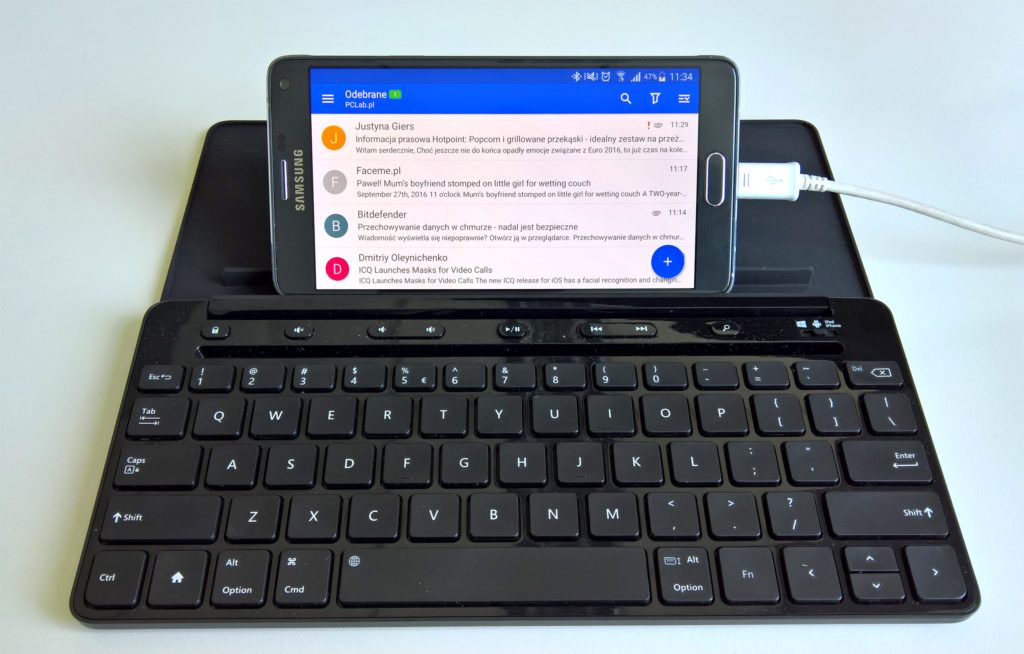 Microsoft Universal Mobile Keyboard iSamsung Galaxy Note 4
