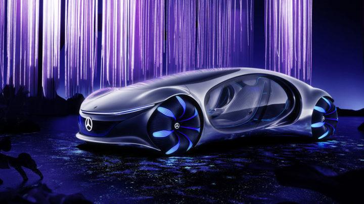 Mercedes-Benz Vision AVTR – futurystyczny samochód elektryczny, któregoakumulatory można kompostować