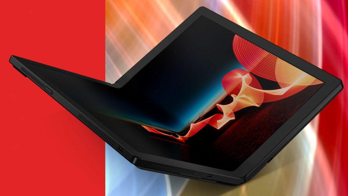 Lenovo ThinkPad X1 Fold, czyli komputer… zezginanym ekranem
