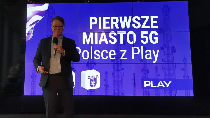 Sieć 5G w Gdyni już działa, ale nie można z niej korzystać