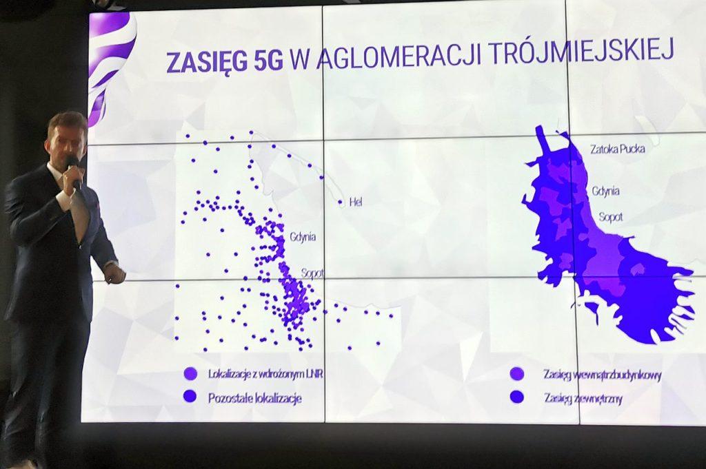 sieć 5G wGdyni