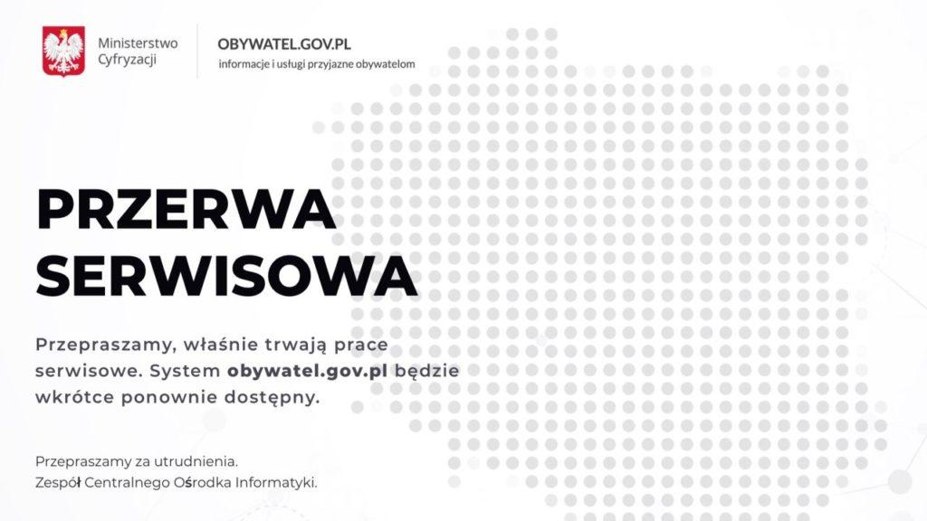 zrzut ekranu zobywatel.gov.pl