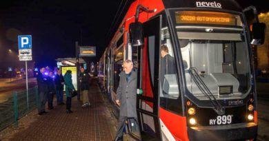 autonomiczny tramwaj w Krakowie
