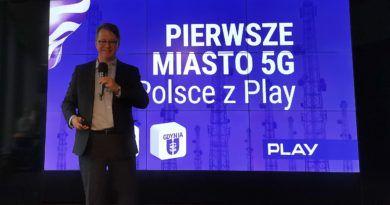 sieć 5G w Gdyni