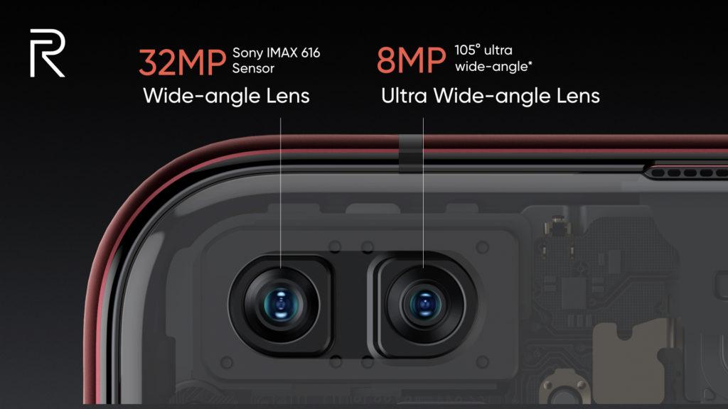 Realme X50 Pro 5G kamery przód