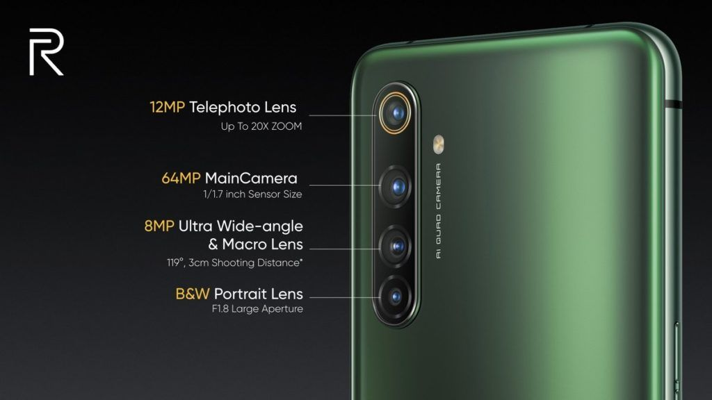 Realme X50 Pro 5G kamery