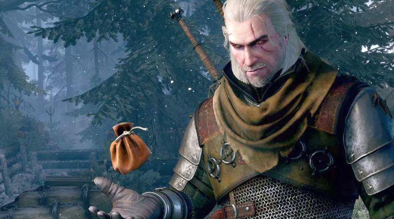 Geralt w Wiedźminie 3