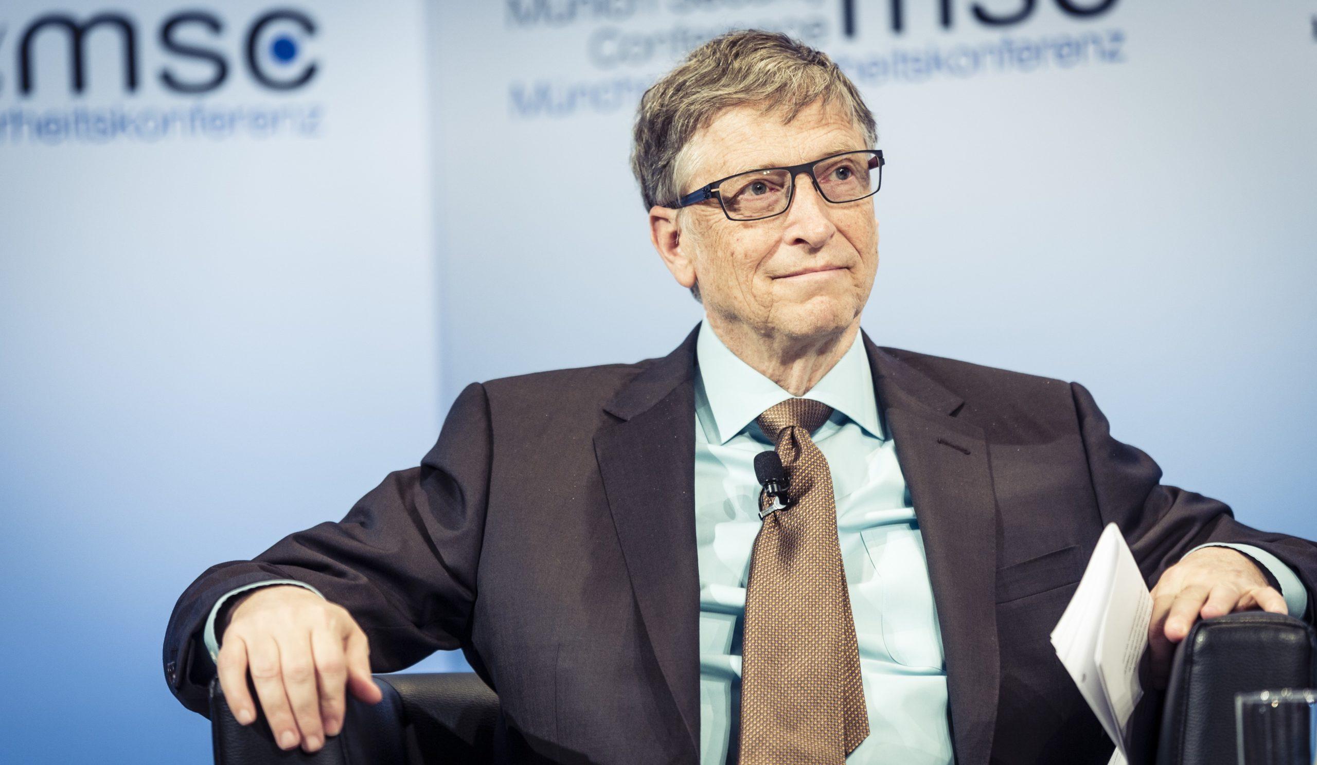 Bill Gates na konferencji MSC 2017