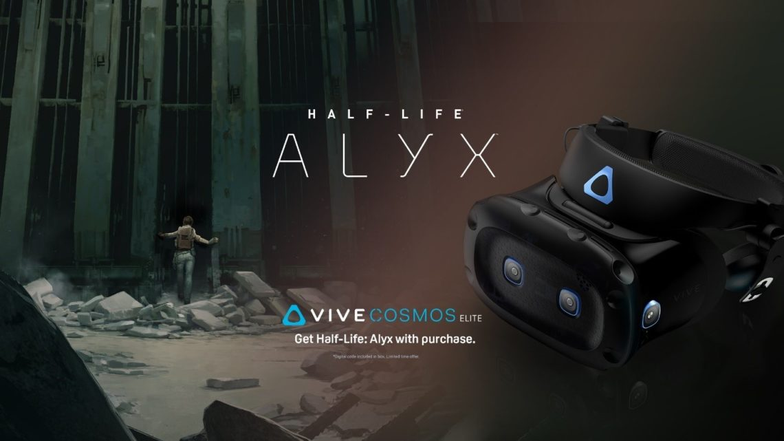 HTC Vive Cosmos Elite wpakiecie zgrą Half-Life: Alyx