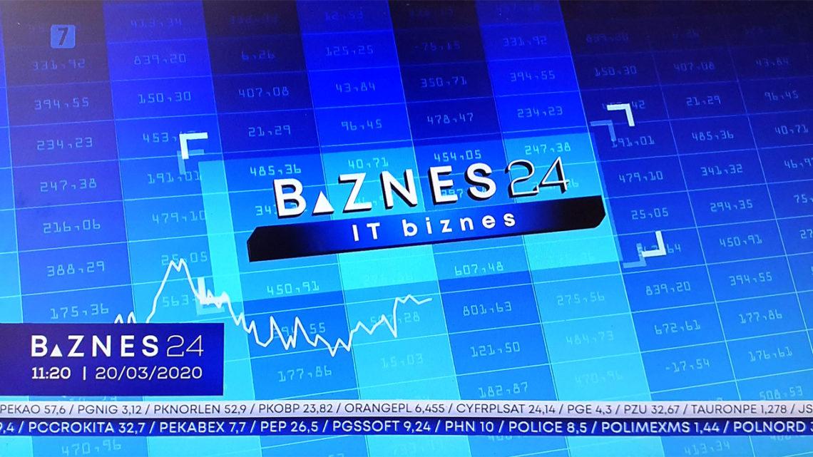 Biznes24 już nadaje. Wramówce nasz program