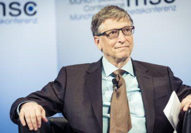 Bill Gates nakonferencji MSC 2017