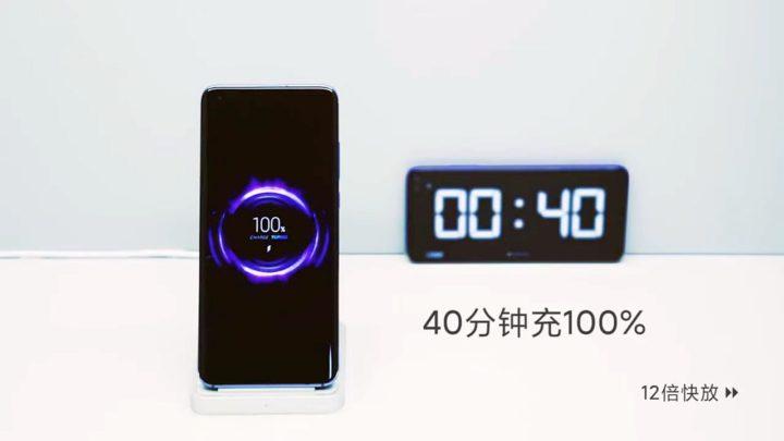 Bezprzewodowe ładowanie 40 W. Xiaomi pokazało rewolucję