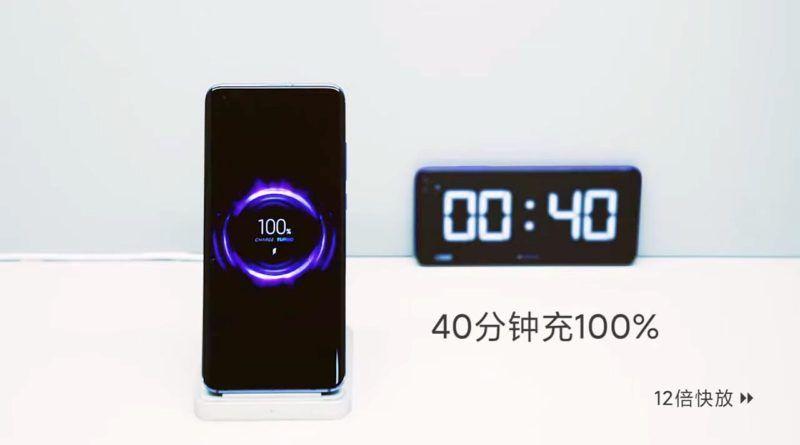 smartfon Xiaomi ładowany bezprzewodowo