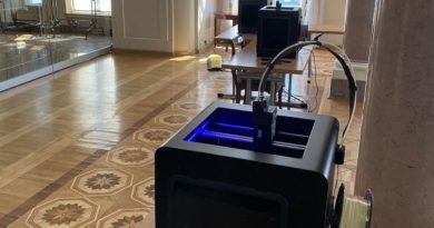drukarki 3D w Pałacu Prezydenckim