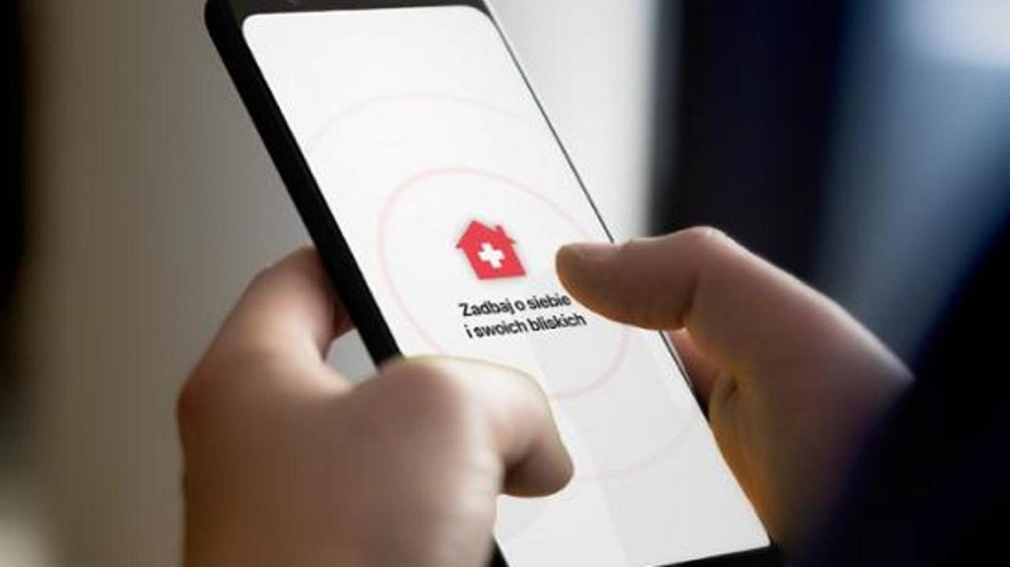 Aplikacja Kwarantanna Domowa zluką pozwalającą sprawdzić, kto jest objęty obowiązkiem izolacji