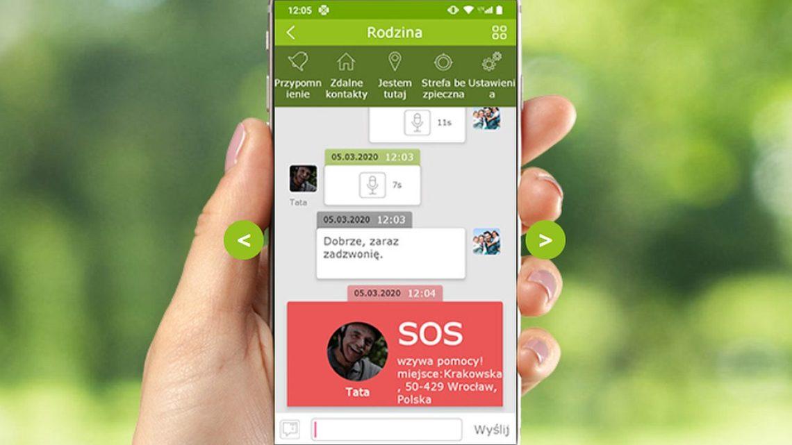 mPTech opracował aplikację dozdalnego opiekowania się bliskimi