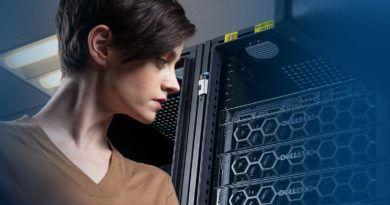 Dell EMC dziewczyna