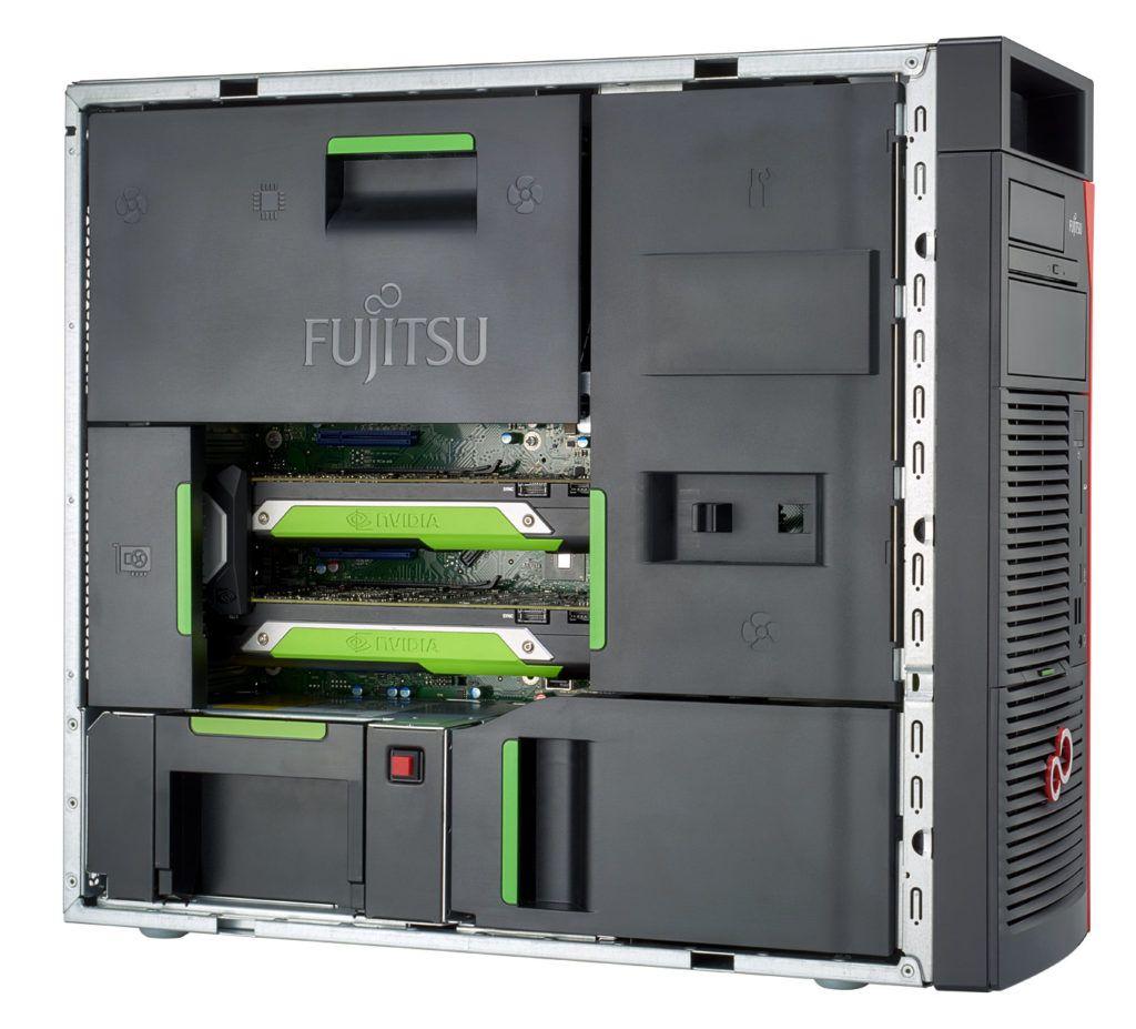 Fujitsu Celsius M7010 polotwarta