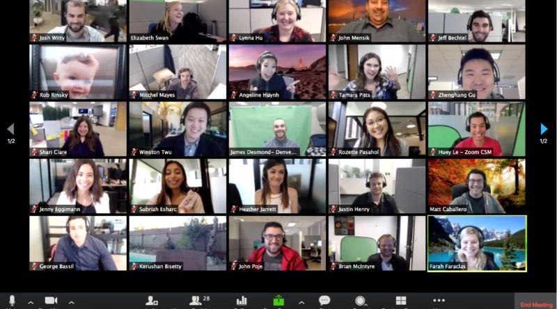 Zoom widekonferencja