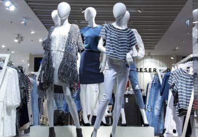 wystawa sklepowa wgalerii handlowej