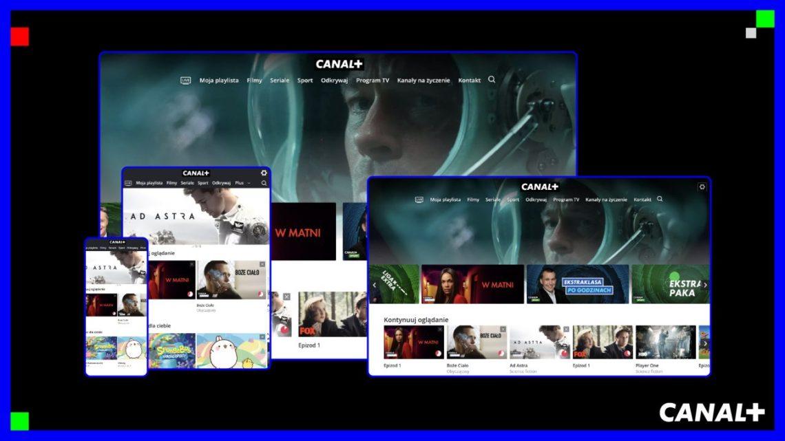 Canal+ połączył  telewizję nażywo zVOD. Jest darmowe okienko