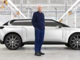 samochód elektryczny Dysona