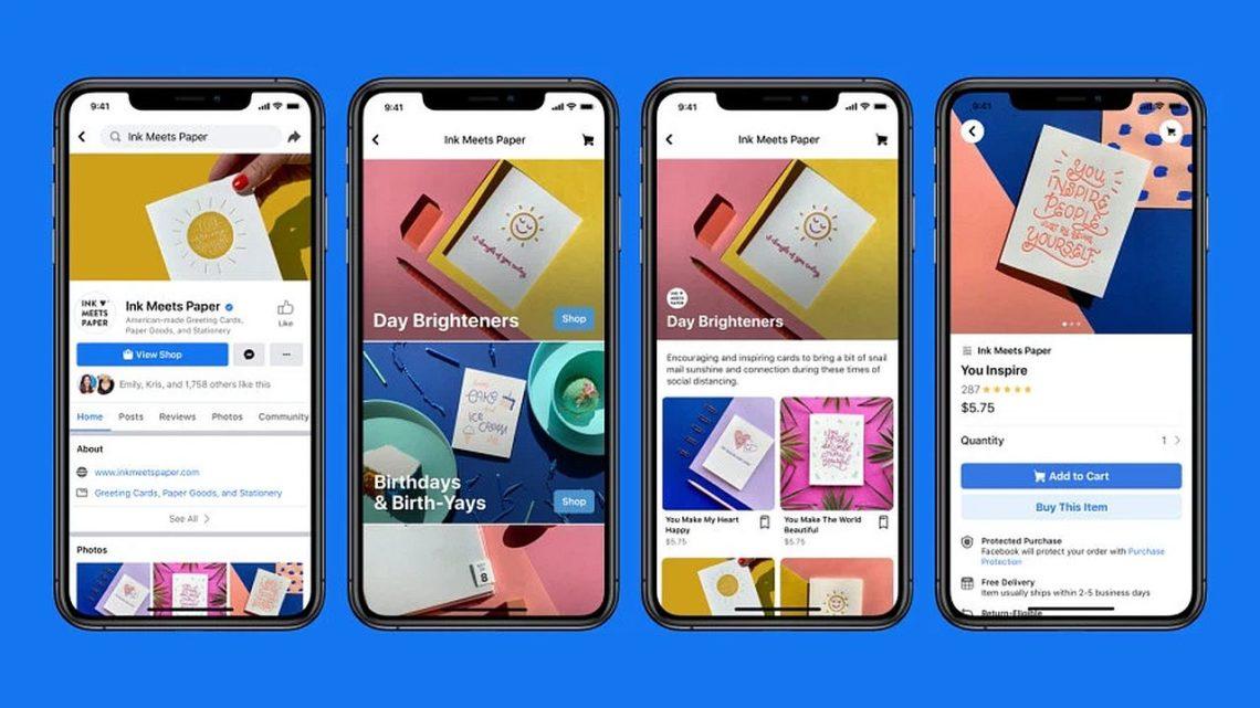 Facebook Shops. Gotowy sklep online dla małych iśrednich przedsiębiorstw