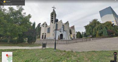 kościół z nadajnikami komórkowymi