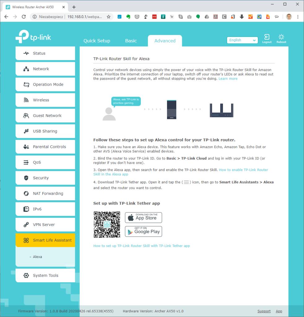 TP Link41 Advanced Alexa