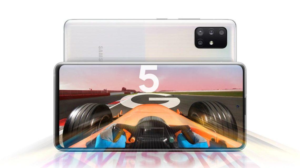 Samsung Galaxy A51 5G wPlusie. Tańszy dostęp do5G