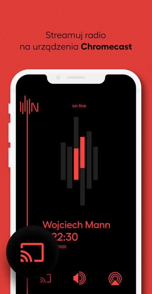 Radio Nowy Świat aplikacja screenshot 3