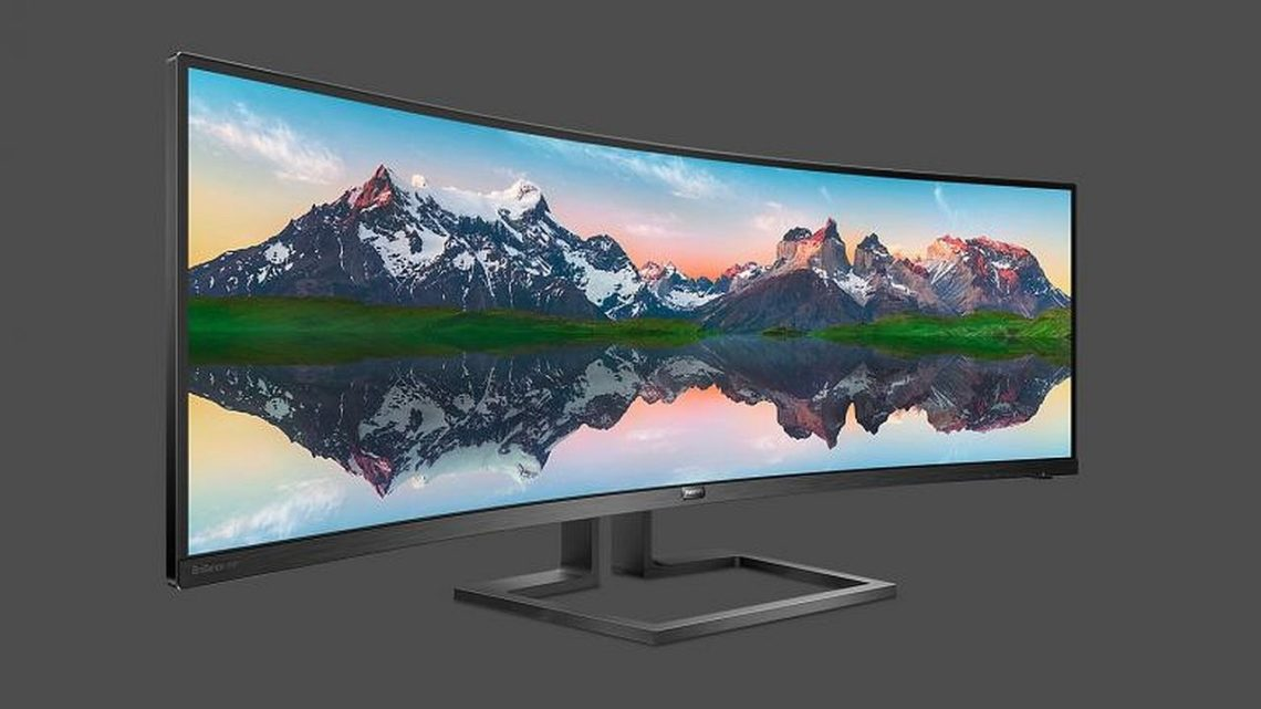 Philips 498P9: dwa monitory wjednym. Obsługuje dwa wejścia obrazu jednocześnie