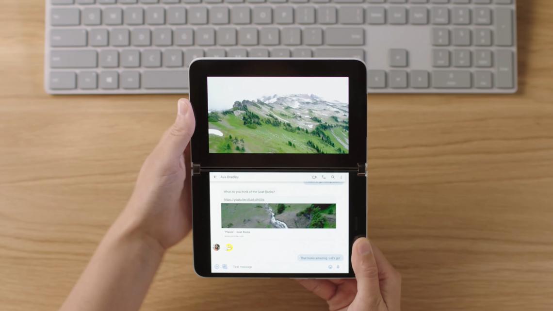 Surface Duo – nowa wizja smartfona według Microsoftu