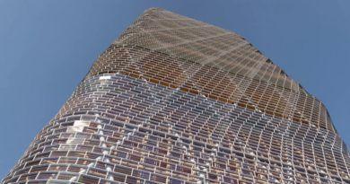 Atlassian timber building
