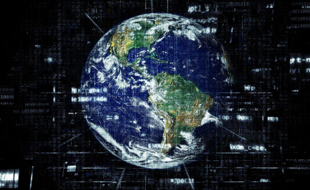 ziemia internet sieć