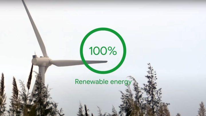 Google zeroemisyjne za10 lat. Tylkoenergia wiatrowa isłoneczna
