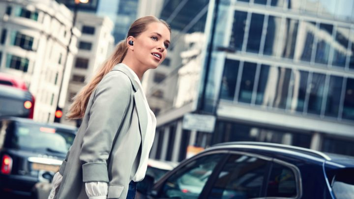 Jabra Elite 85t słuchawki zaktywną redukcją szumów + ANC waktualizacji dla serii Elite 75t
