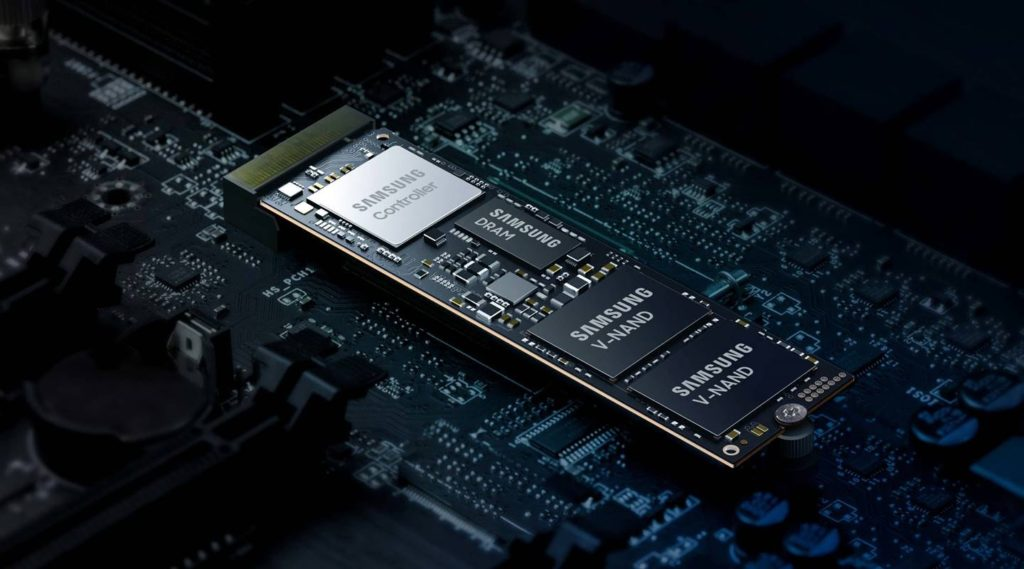 Samsung 980 PRO najwazniejsze komponenty