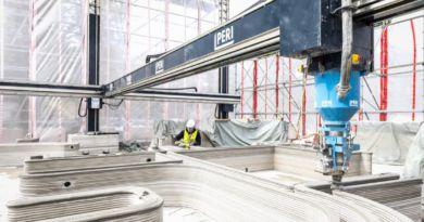 PERI stawia w Niemczech pierwszy budynek mieszkalny wykorzystując druk 3D