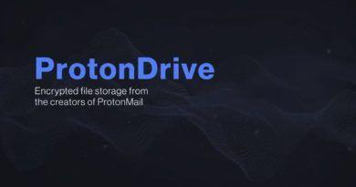 ProtonDrive - tytuł