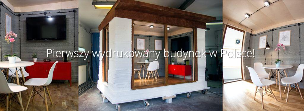 REbuild pierwszy budynek wPolsce druk 3d